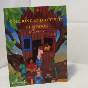 Coloring And Activity Fun Book Volume 2