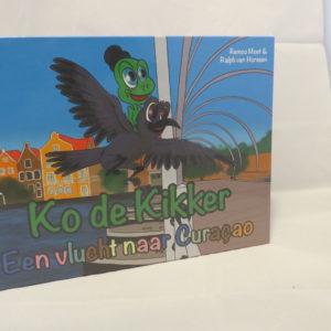 Ko De Kikker Een Vlucht Naar Curaçao