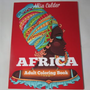 africa adult coloring book